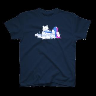 shirokumasaanのある日の昼下がり T-shirts