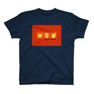 りんごみっつオレンジ T-shirts