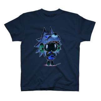 【各5点限定】がおくんのかわをかぶっためぇめぇさん(1/nega) T-shirts