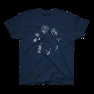 みさきのーとのくらげの一生 T-shirts