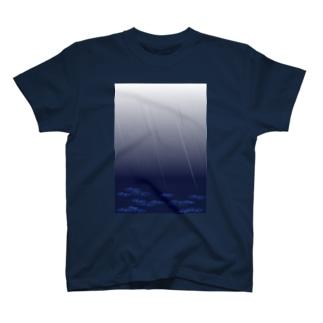 雨模様 T-shirts