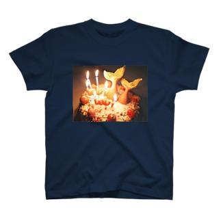 baby baby mermaid cake B T-shirts