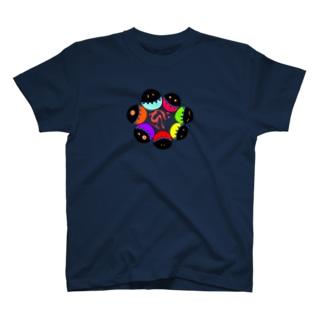 梵字数珠柄 T-shirts