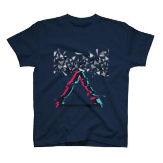 ゆがんださんかく T-shirts