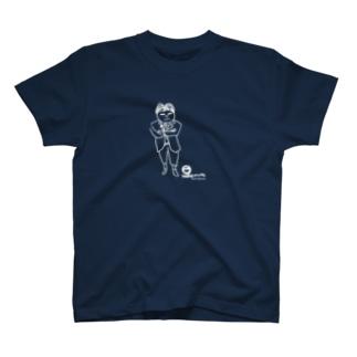 【KUFC】 TOKUSHIGE-kun T-SHIRT T-shirts
