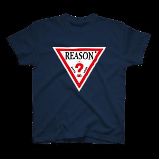 ツイッターインベストメントアパレル事業部のReason T-shirts