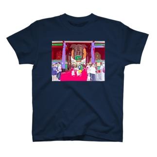 雷の門 T-shirts