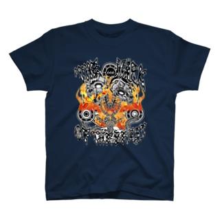 黙示録の獣(両面プリント) T-shirts