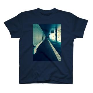 田舎フォトプリント T-shirts