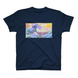 インスタ映えを意識しすぎた葛飾北斎 T-shirts