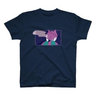 ヘビースモーカーNEKODAと女のグッズ T-shirts