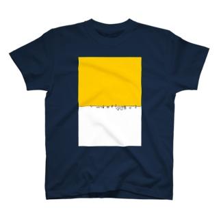 食べ残しテーブルデザイン T-shirts
