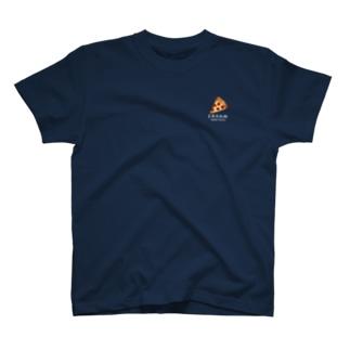 DAMN PIZZA  (濃色用) T-shirts