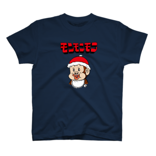つの丸のモンチャック T-shirts