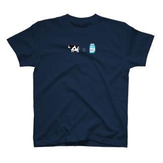 うし牛乳 T-shirts