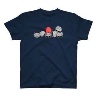 紅一点 T-shirts