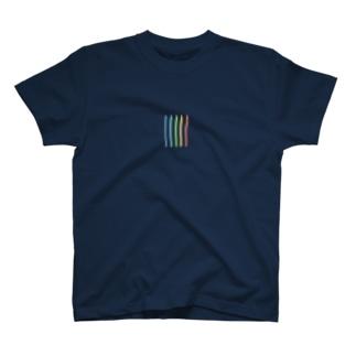 しゃしんから、いろえんぴつ。 T-shirts