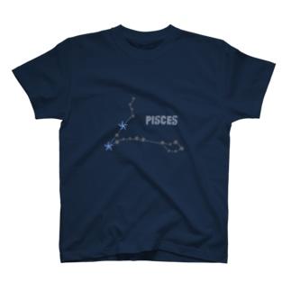 スタースタッズ星座 魚座 T-shirts