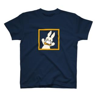 マスクうさぎ T-Shirt
