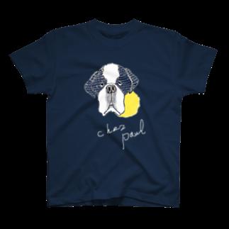 iccaのセントバーナード T-shirts