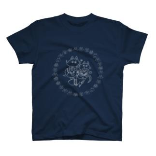 こぶたぬきつねこ♪ T-shirts