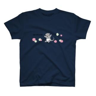 ベビー ビントロング ~りんごといっしょ~ T-shirts