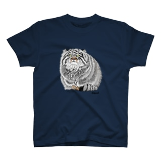 お座りマヌルネコ T-shirts