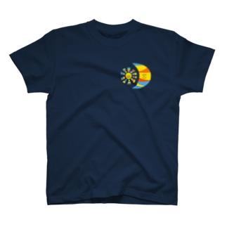 太陽と月、B T-shirts