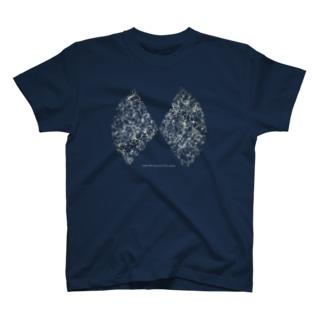 宇宙の大規模構造(黒地用) T-shirts