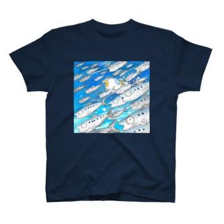 いわしの大群・・・? T-shirts