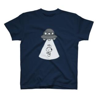 アブダクションおやじ T-shirts