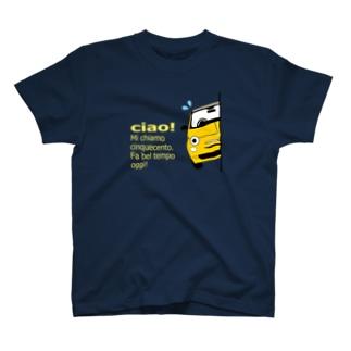 ひょっこりちん特濃FR ミモザ-C T-shirts