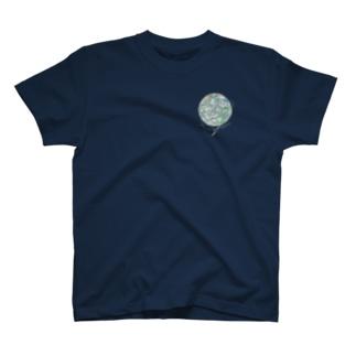 水星 (黒地用) T-shirts