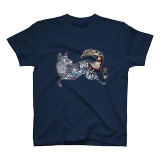 オオカミの物語 T-shirts