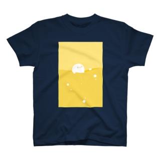Liquid_マルーン T-shirts