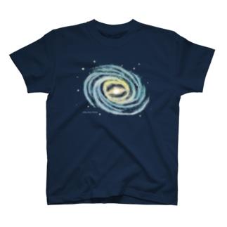 天の川銀河 T-shirts