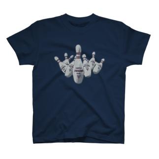 国際ジャンボ ボウリングピン T-shirts
