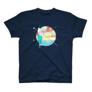 ノンアルコールカクテルプラネット T-shirts