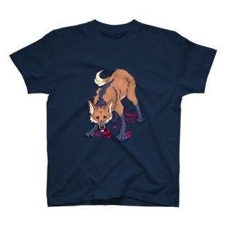 タテガミオオカミ T-shirts
