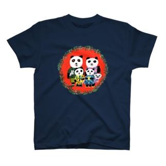 パンダファミリー T-shirts