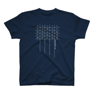 Blueprint of Reed T-shirts