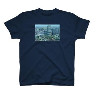 ミニチュアな都会 T-shirts