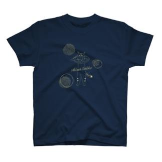 猫ざんまいのUKIWA DAKKO(黄) T-shirts
