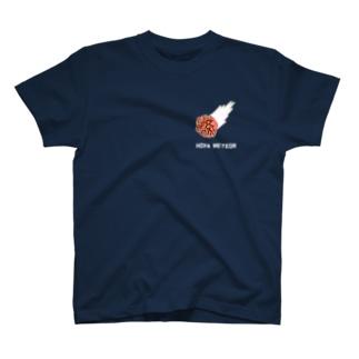 ホヤメテオ(胸部プリント) T-shirts