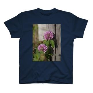 多摩川の蓮華 T-shirts