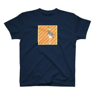 ジーーーっと見るハシビロさん T-shirts