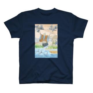鵜飼の川上ひこう T-shirts