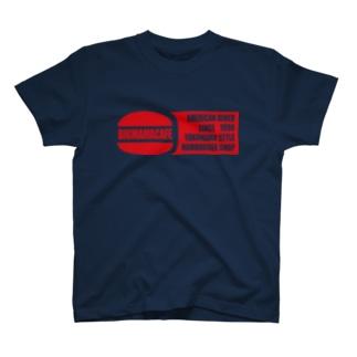 Bigmamacafe レッドロゴ T-shirts