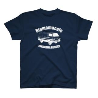Bigmamacafe YOKOHAMA BURGER A ホワイト T-shirts