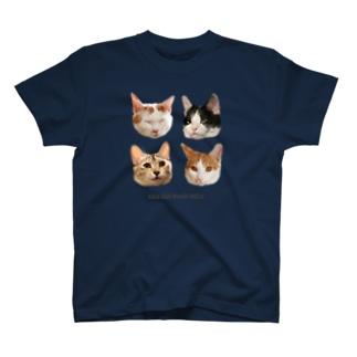 シラクジマグホタ T-shirts